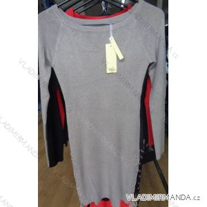 Minišaty pulovr prodloužený dámský (s-xl) M.B.21 COLLECTION CV809