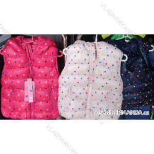 Vesta zimní  dorost dívčí kapuce zip (30/36) NATURE RSG-4850