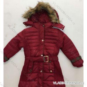 Bunda zimní zateplená s kožíškem dívčí (2-5 let) GOOD CHILDREN BN162