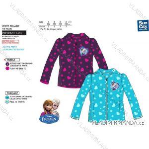Mikina flaušová frozen dětská dívčí  (4-8 let) SUN CITY PH1017