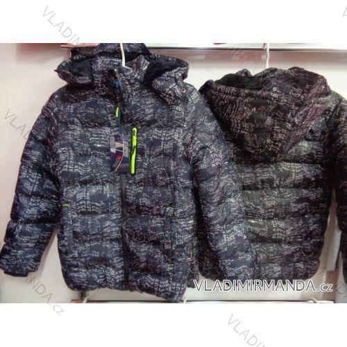 Bunda zimní dětská a dorost chlapecká (8/9 let) NATURE RSB-4899