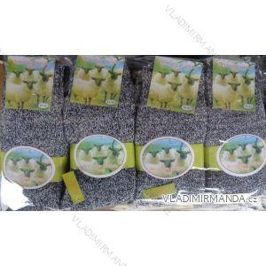 Ponožky teplé z ovčí vlny dámské (39-42) VIRGIN CD-3003