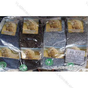 Ponožky teplé z ovčí vlny dámské (35-42) AMZF PB-773