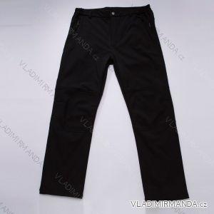 Kalhoty softshell s flaušem podzimní outdoor funkční nepromokavé pánské (m-xxl) WOLF B2790
