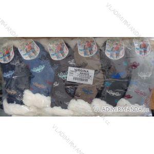 Ponožky zateplené vlnou dětské a dorost chlapecké (27-38) VIRGINA NA0833