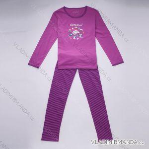 Pyžamo dlouhý rukáv a nohavice dámské (s-2xl) WOLF D2744