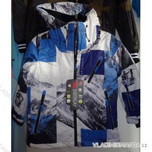 Bunda zimní lyžařská s bederním pásem chlapecká (92-122) JUSTPLAY B3323