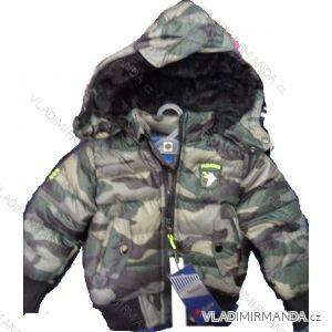 Bunda zimní dětská a dorost chlapecká (1-7 let) NATURE RSB-4057