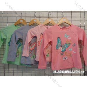Tričko dlouhý rukáv dětské dívčí (98-128) VOGUE IN 98403