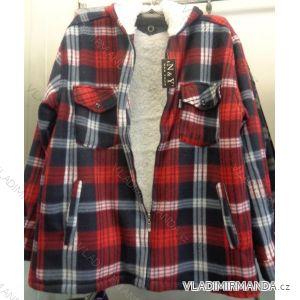 Košile zateplená beránkem s kapucí pánská (m-3xl) NAN YUAN 6068