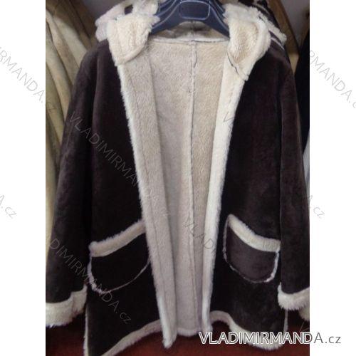e60717a7859a Bunda kabát zimná dámska s kožušinkou talianska moda IM2173015 ...
