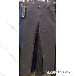 Kalhoty teplé dámské podzimní široké nohavice (30-42) MOON GIRL ZCD8926-1E