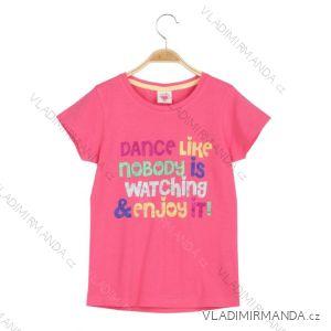 Tričko krátký rukáv dětské dívčí (98-128) GLO-STORY GPO-6169
