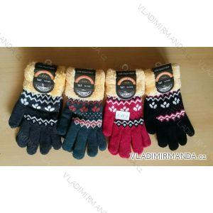 Rukavice pletené dámské (uni) TAT 0-27-3