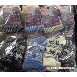 Ponožky teplé thermo zdravotní lem dámské (35-38) ALJAšKA 919518