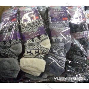 Ponožky teplé thermo zdravotní lem dámské (35-38) ALJAšKA 919519