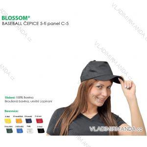 Baseball čepice dámská, pánská a dorost (one size) BLOSSOM BLO- C5