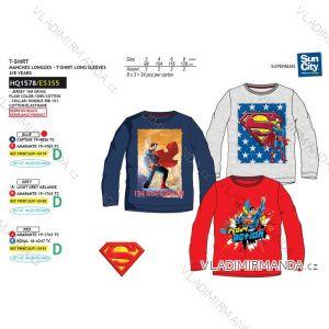 6d473f09b Tričko dlhý rukáv superman detské chlapčenské (3-8 rokov) SUN CITY HQ1578