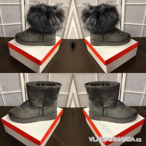 Boty zateplené dámské (37-41) OBUV SJ1672-5