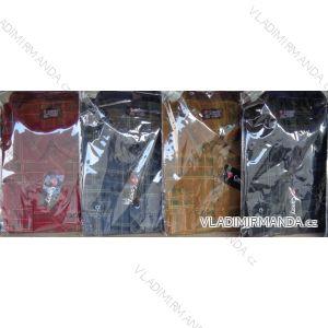 Košile manšestr dlouhý rukáv pánská (m-3xl/39-48) CANARY  CANARY-05