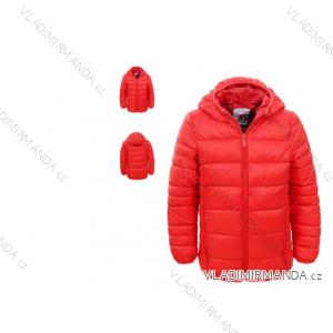 Bunda dětská zimní polstrovaná dívčí (92/98-128) GLO-STORY GMA-4639