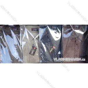 Košile manšestr dlouhý rukáv pánská (m-3xl/39-48) CANARY  CANARY-07