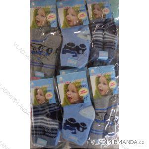 Ponožky teplé thermo  kojenecké chlapecké (0-36 měsíců) LOOKEN ZTY-6812ABS