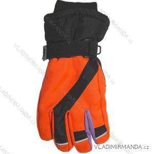 Rukavice prstové lyžařské dorost chlapecké (20-22 cm) YO! RN-004