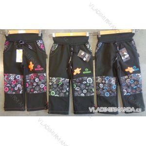 Kalhoty softshell dětské flaušová podšívka  (122-152) NEVEREST FT-7281C