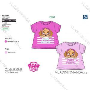 Tričko krátký rukáv paw patrol kojenecké dívčí bavlněné (6-24 měsíců) SUN CITY ER0152