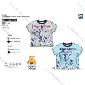 Tričko krátký rukáv medvídek pú kojenecké chlapecké bavlněné (6-24 měsíců) SUN CITY ER0159