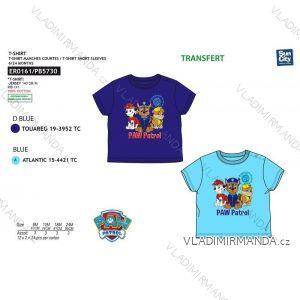Tričko krátký rukáv paw patrol kojenecké chlapecké bavlněné (6-24 měsíců) SUN CITY ER0161