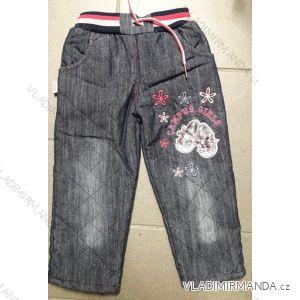 Kalhoty zateplené dětské dívčí (3-5 let) TURECKá MODA 999823