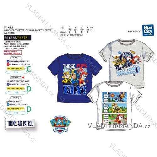 0bdf86531 Tričko krátky rukáv paw patrol detské chlapčenské bavlnené (3-6 rokov) SUN  CITY