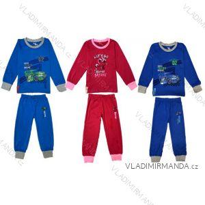 Pyžamo dlouhé dětské dívčí a chlapecké (80-110) KUGO T1170