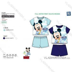 Pyžamo krátké mickey mouse kojenecké chlapecké (9-24 měsíců) SUN CITY ER0336