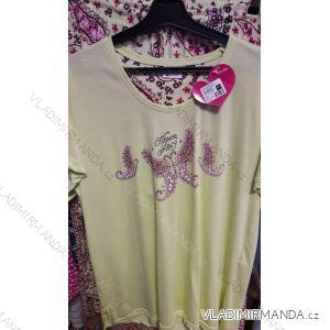 Pyžamo dlouhé krátký rukáv dámské (m-3xl) VIENETTA 512015