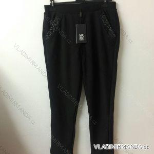 Tepláky kalhoty teplé dámské (l-3xl) VAAV 9100067
