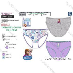 Kalhotky 3ks frozen kojenecké dětské dívčí (2-8 let) SUN CITY ER3035