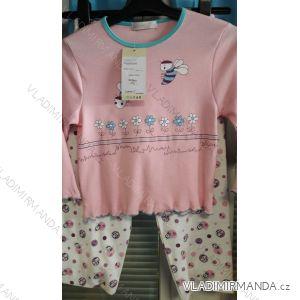 Pyžamo dlouhé dětské dívčí (98-128) LEMON-C GH3841