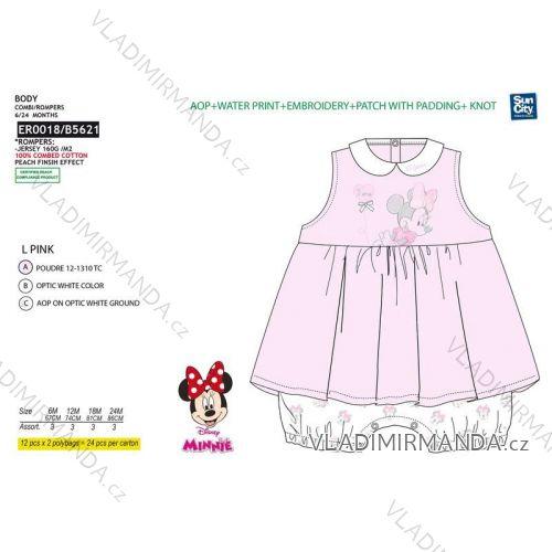 28bc099e1919 Súprava letná minnie mouse dojčenská dievčenské bavlnená (6-24 mesiacov)  SUN CITY ER0018