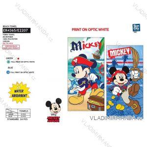 Osuška plážová mickey mouse dětská chlapecká (70*140 cm) SUN CITY ER4365
