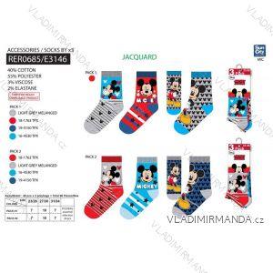 9ccb97efc7c Ponožky mickey mouse 3ks dětské dorost chlapecké (23-34) SUN CITY RER0685