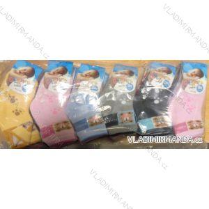 Ponožky teplé thermo kojenecké dívčí a chlapecké (0-24 m) AURA.VIA BO136
