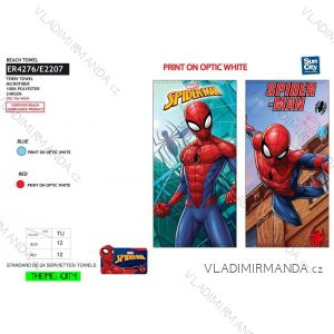 Osuška plážová spider-man dětská chlapecká (70*140) SUN CITY ER4276
