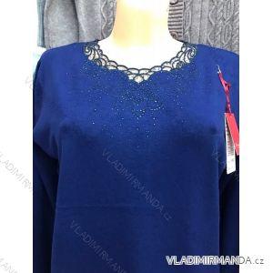 Pulovr svetr dlouhý rukáv dámský (m-2xl) POLSKá MODA GR17050