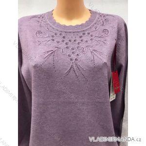 Pulovr svetr dlouhý rukáv dámský (m-2xl) POLSKá MODA GR17051