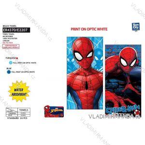 Osuška plážová spider-man dětská chlapecká (70*140) SUN CITY ER4370
