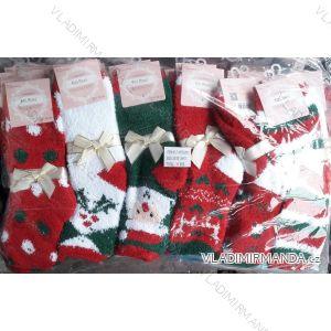 Ponožky teplé peříčko dámské (35-41) EMI ROSS NěMECKO XLF-H5502MC