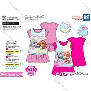 Šaty letní paw patrol dětské dívčí (3-6 let) SUN CITY ER1191